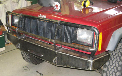 ARB Copy Winch Bumper
